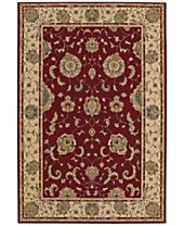 CLOSEOUT! D Style Beacon BEA8 Red Area Rugs
