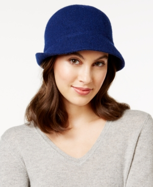 1920s Style Hats August Hats Melton Love Asymmetrical Cloche $25.50 AT vintagedancer.com
