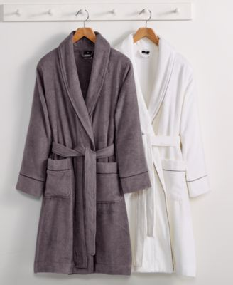 hotel collection finest modal robe luxury turkish cotton created for macyu0027s - Terry Cloth Robe