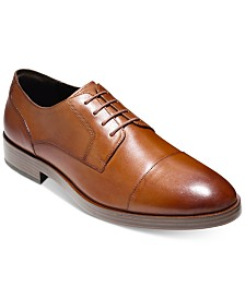 Cole Haan Men's Henry Grand Cap-Toe Oxfords