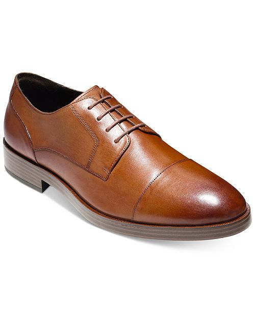 d3af021b780ef0 Cole Haan Men s Henry Grand Cap-Toe Oxfords   Reviews - All Men s ...