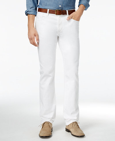 Tommy Hilfiger Men's Straight-Leg Jeans, Created for Macy's