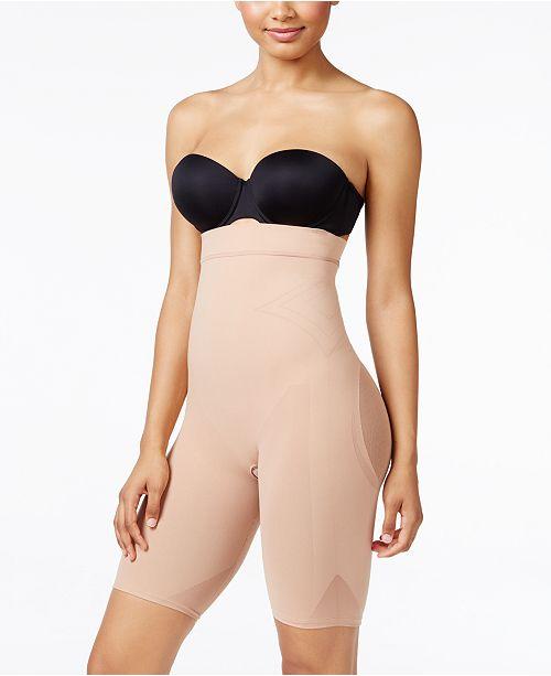 Leonisa Women's  Light Tummy-Control High-Waist Thigh-Slimmer 012807M