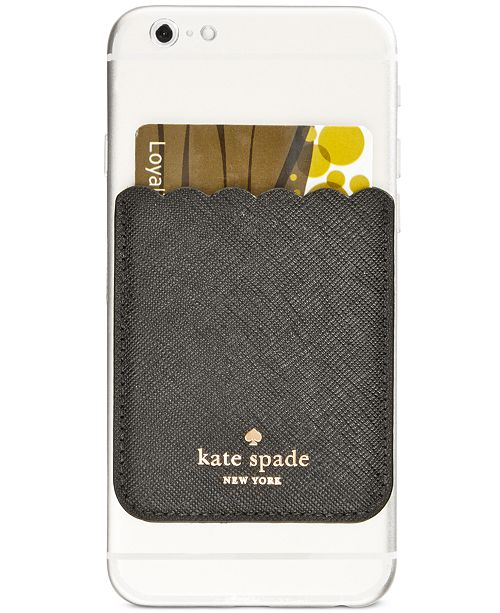 Kate Spade New York Scallop Card Pocket Handbags Accessories Macy S