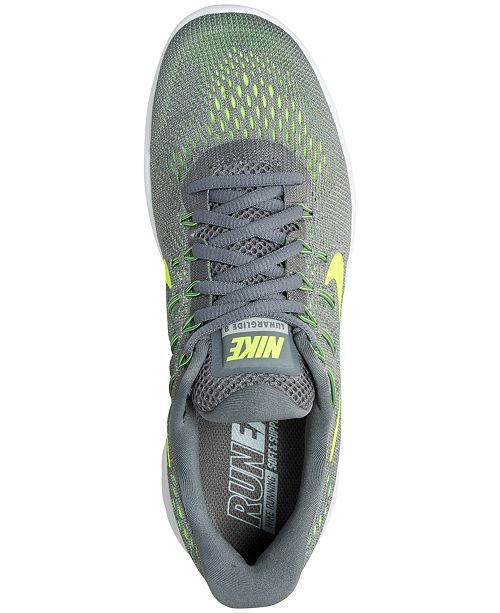 official photos 15e59 17f44 Nike Men's LunarGlide 8 Running Sneakers from Finish Line ...