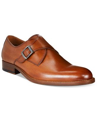 Tasso Elba Men's Lucca Single Monk Loafers, Created for Macy's