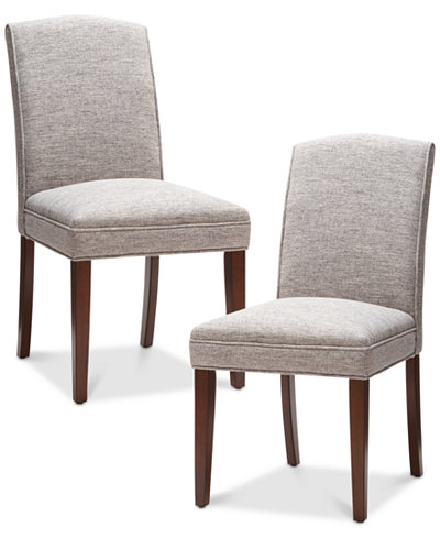 Camel Set of 2 Dining Chairs, Quick Ship