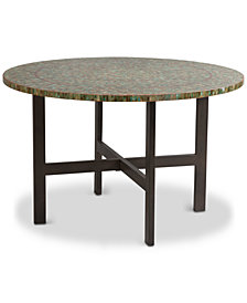 Mozart Round Dining Table, Quick Ship