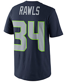 Nike Men's Thomas Rawls Seattle Seahawks Pride Name and Number T-Shirt