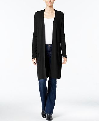Charter Club Open-Front Duster Cardigan, Created for Macy's