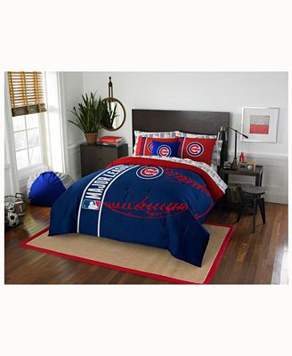 chicago cubs bedding collection - bed in a bag - bed & bath - macy's