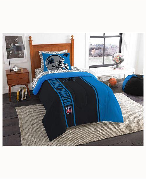 Northwest Company Carolina Panthers 5-Piece Twin Bed Set