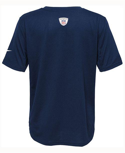 b298e548 Nike Kids' Chicago Bears Icon T-Shirt, Big Boys (8-20) & Reviews ...