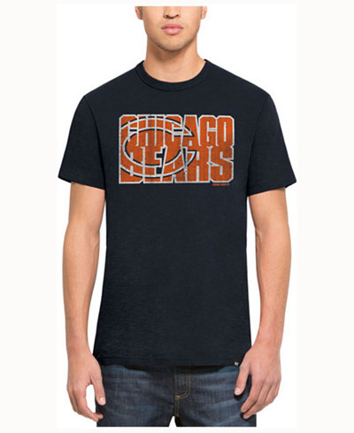 '47 Brand Men's Chicago Bears Wordmark Scrum T-Shirt