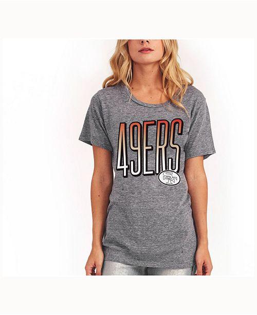 best service c9c8e 3a53b Authentic NFL Apparel Women's San Francisco 49ers Big Draw T ...