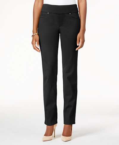Charter Club Petite Cambridge Pull-On Jeans, Created for Macy's