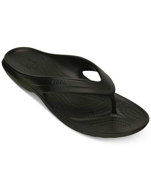 9ab85c1483d8ef Crocs Men s Classic Flip Flops   Reviews - All Men s Shoes - Men ...