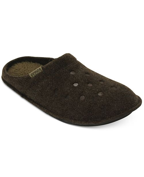 35bfef14e699 Crocs Men s Classic Slippers   Reviews - All Men s Shoes - Men ...