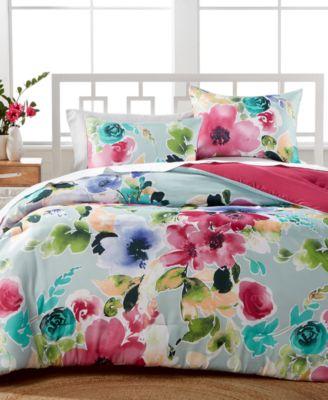 Awesome Amanda 3 Pc. Reversible Comforter Sets