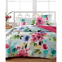 Hallmart Collectibles Amanda 2-Piece Reversible Twin Comforter Set