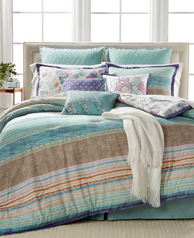 CLOSEOUT! Kelly Ripa Home Amalfi 10-Pc. Reversible Full Comforter Set