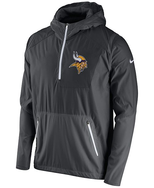 c61a9d807 Nike Men s Minnesota Vikings Vapor Speed Fly Rush Hooded Jacket ...