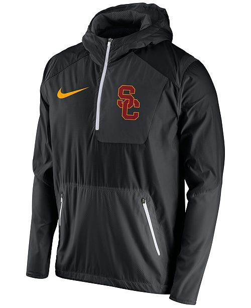 a268d198 Nike Men's USC Trojans Speed Fly Rush Hooded Jacket & Reviews ...