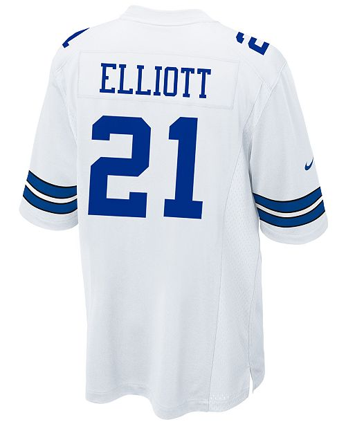 8b06f49be6e Nike Men s Ezekiel Elliott Dallas Cowboys Game Jersey   Reviews ...
