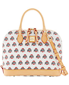 Dooney & Bourke Ohio State Buckeyes Zip Zip Satchel