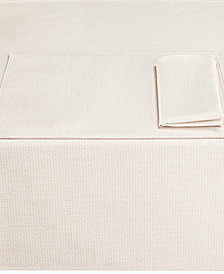 "Noritake Colorwave Cream Collection 70"" Round Tablecloth"
