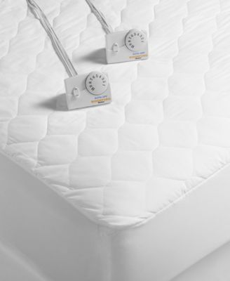biddeford quilted heated mattress pad collection
