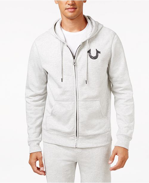 5229fc928 True Religion Men's Shoestring Horseshoe Hoodie & Reviews - Hoodies ...