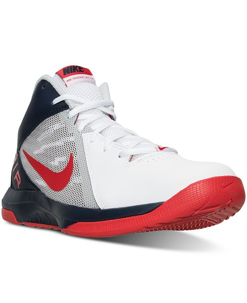Nike Men's The Air Overplay IX Basketball Sneakers from