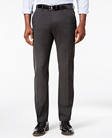Men's Stretch Athleisure Slim-Fit Dress Pants