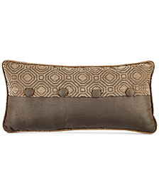 "CLOSEOUT! Croscill Benson 22"" x 11"" Boudoir Decorative Pillow"