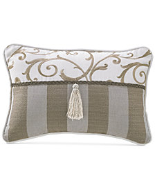 "Croscill Anessa 18"" x 12"" Boudoir Decorative Pillow"