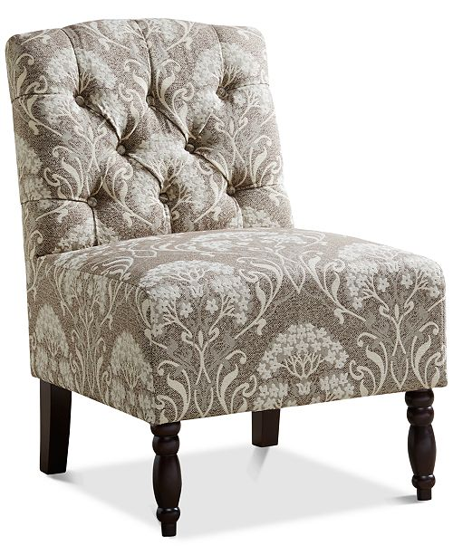 Furniture Charlotte Tufted Armless Chair