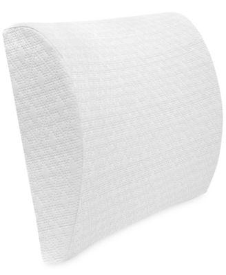 Luxury Pressure Relieving Gel Infused Memory Foam Lumbar Pillow