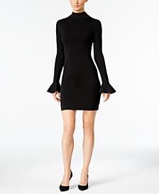 Bell-Sleeve Bodycon Dress