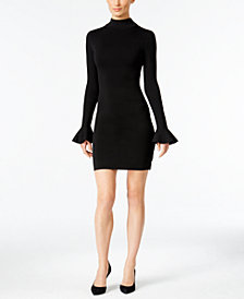 MICHAEL Michael Kors Bell-Sleeve Bodycon Dress