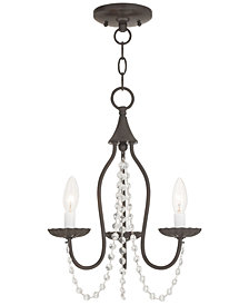 Livex Alessia 3-Light Mini Chandelier