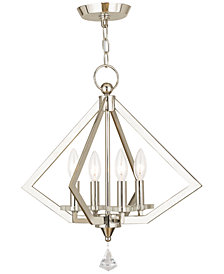 Livex Diamond Mini Chandelier