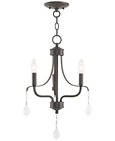 Livex Laurel 3-Light Mini Chandelier