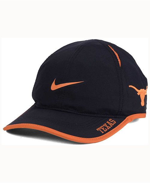 new styles 6fb73 db2b3 Nike. Texas Longhorns Featherlight Cap. Be the first to Write a Review.  main image ...