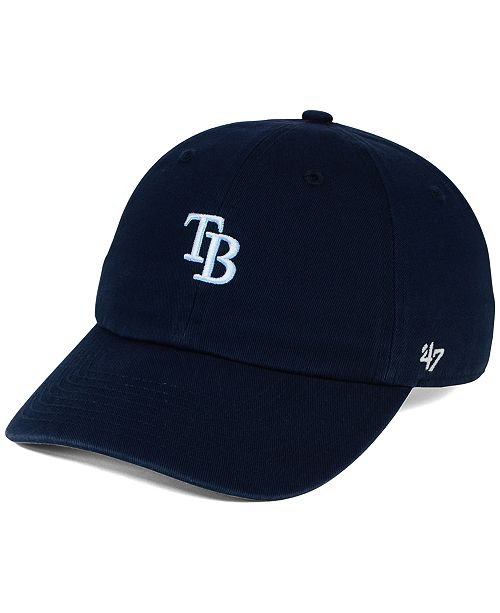 '47 Brand Tampa Bay Rays Base Runner Clean Up Cap