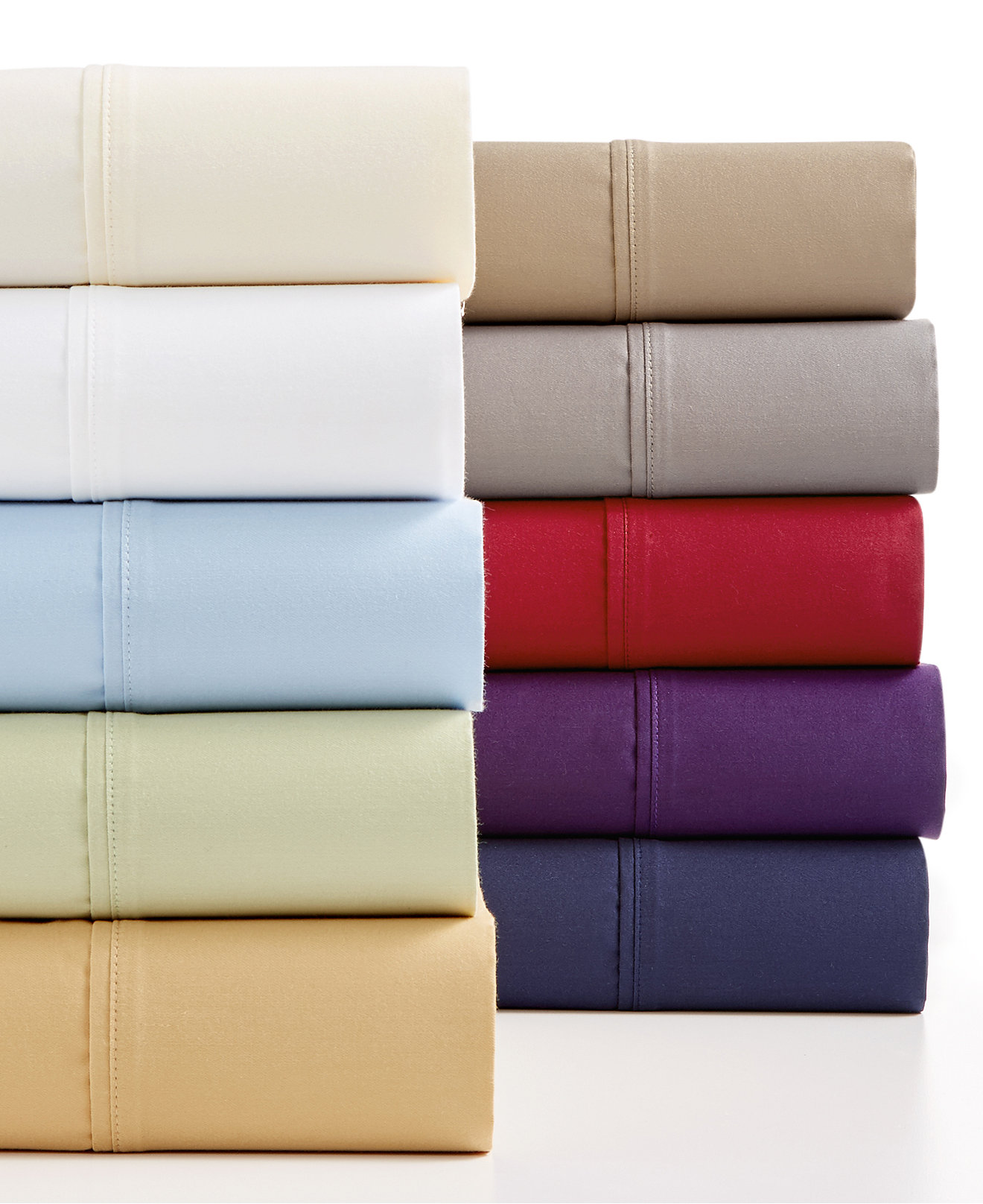 High thread count bed sheets - Larger View