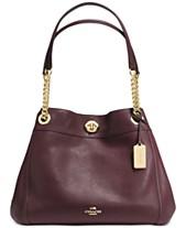 643d307d COACH Turnlock Edie Shoulder Bag in Pebble Leather