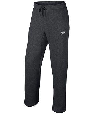 Nike Men's Cargo Pocket Fleece Pants - Activewear - Men - Macy's