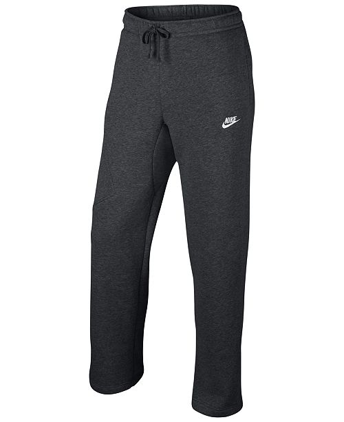 ae04a0389867 Nike Men s Cargo Pocket Fleece Pants   Reviews - All Activewear ...