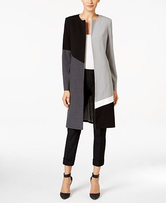 Calvin Klein Colorblocked Topper Jacket